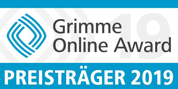 Grimme Online Award Preisträger 2019