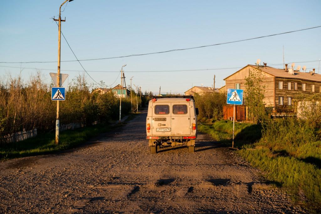 Belaja Gora in Jakutien